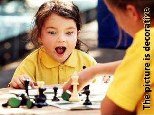 Abigail has two 7 years old sons and a 5 years old daughter, students of chess in LA